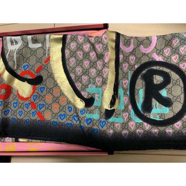 Gucci - グッチ GUCCI ゴーストスカーフ 443421 /カレ エルメスの通販 by MYIN shop