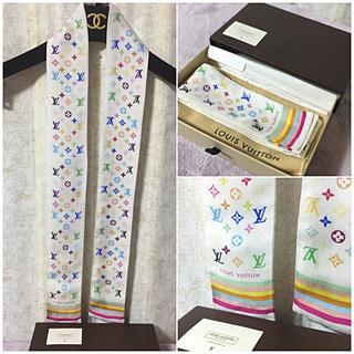 ルイヴィトン(LOUIS VUITTON)のさくらママ様 専用ページ マルチカラー バンドー スカーフ(バンダナ/スカーフ)