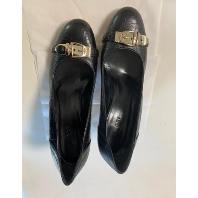 Gucci - グッチGUCCI 黒パンプス約23cmサイズ36C 中古の通販 by TAKAR