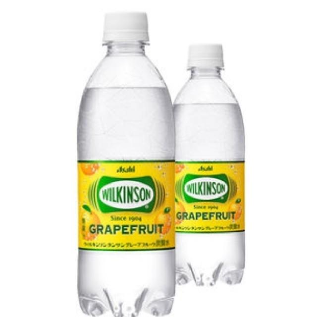 アサヒ(アサヒ)の48本ウィルキンソン タンサン グレープフルーツ PET 500ml  食品/飲料/酒の飲料(ミネラルウォーター)の商品写真