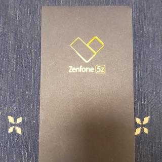 エイスース(ASUS)のZenfone5z シルバー(スマートフォン本体)