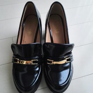 ヌォーボ(Nuovo)のNUOVO ビットヒールローファー  Lサイズ(ローファー/革靴)