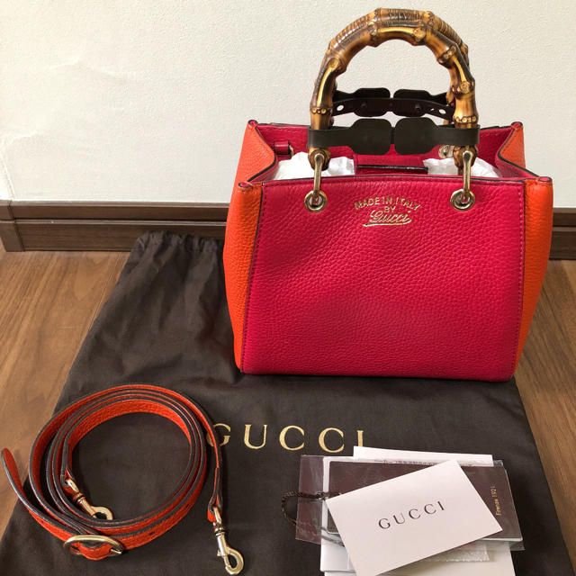 Gucci - GUCCI グッチ バンブー ミニショッパー 2WAY の通販 by nana's shop