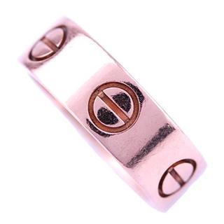 カルティエ(Cartier)のCARTIER カルティエ ラブ リング 指輪 46 号 K18 PG(リング(指輪))