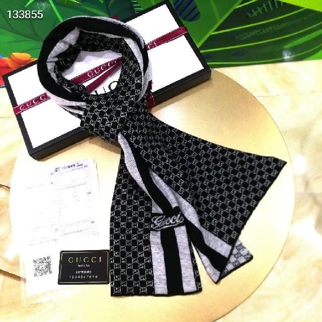 Gucci - gucciマフラーの通販 by id:qq912299952を追加してください。