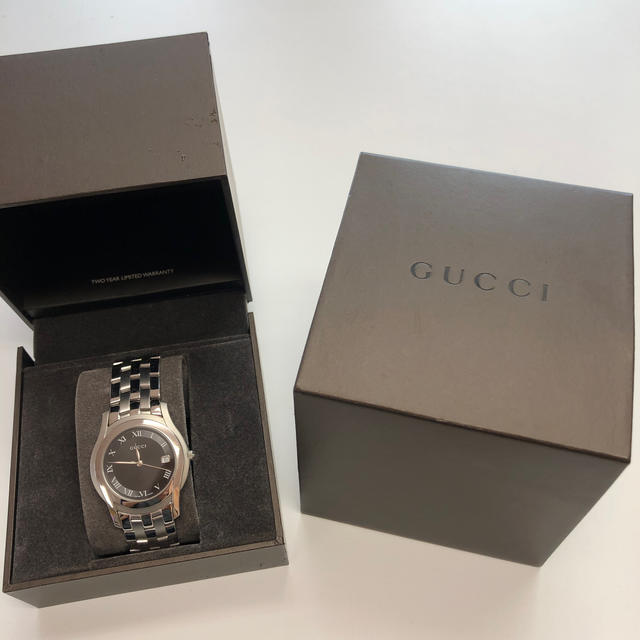 Gucci - GUCCIメンズ腕時計の通販 by hy's shop