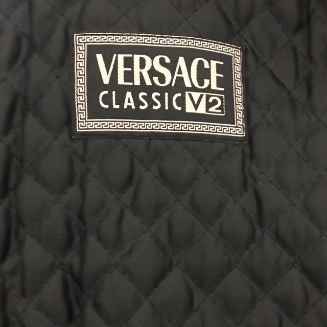 VERSACE(ヴェルサーチ)のVERSACE レザージャケット メンズのジャケット/アウター(レザージャケット)の商品写真