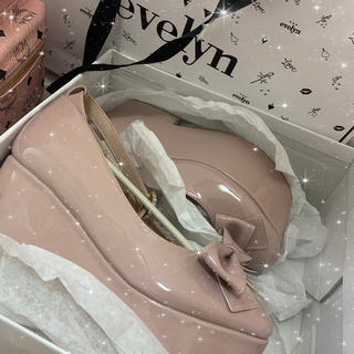 エブリン(evelyn)のevelyn 厚底靴(ローファー/革靴)