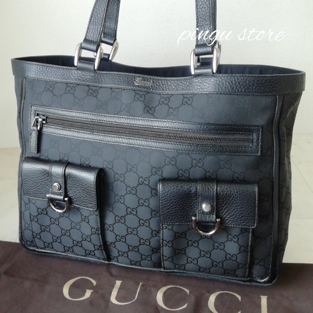 Gucci - 【超美品 正規品】グッチ トートバッグの通販 by ピングー☆'s shop