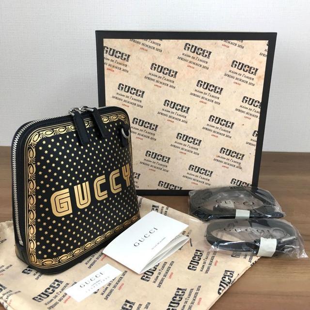 Gucci - 未使用品 グッチ GUCCY ミニショルダーバッグ ポーチ ブラック 61の通販 by ちー's shop
