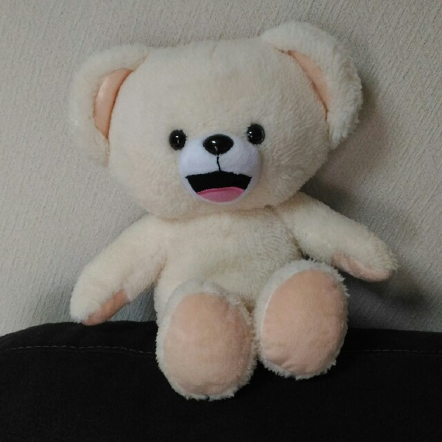 fur fur(ファーファー)のファーファー ぬいぐるみ 非売品 furfur エンタメ/ホビーのおもちゃ/ぬいぐるみ(ぬいぐるみ)の商品写真
