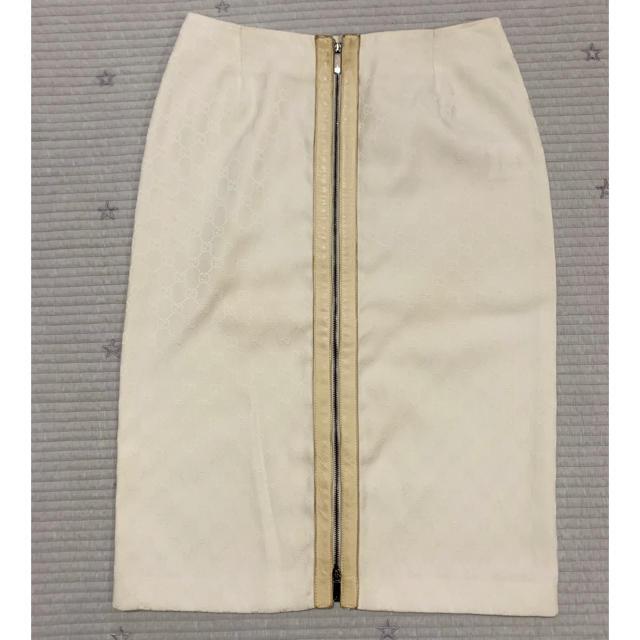 Gucci - グッチGUCCI/GGロゴタイトジップスカートの通販 by kou.maman