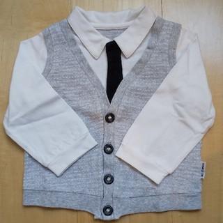 コムサイズム(COMME CA ISM)のコムサイズム フォーマル シャツ カットソー 80cm 入園 結婚式 男の子(セレモニードレス/スーツ)