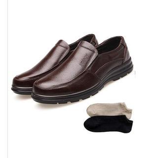 安全靴 革靴 メンズ コックシューズ 黒 厨房 シューズ (その他)