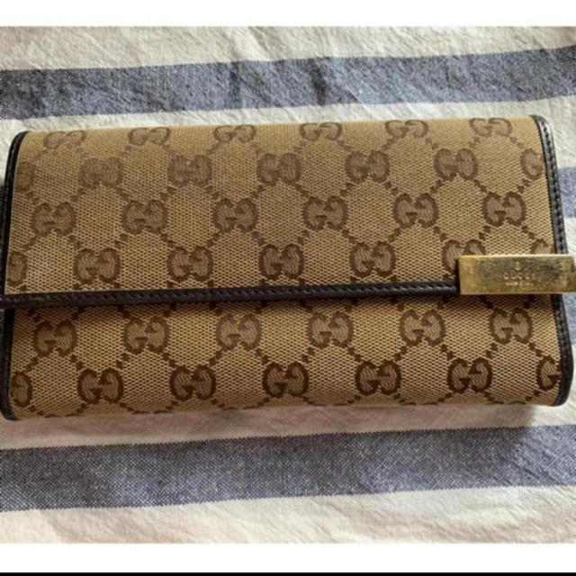 Gucci - GUCCI 長財布の通販 by まりゅーん's shop