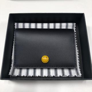 アニヤハインドマーチ(ANYA HINDMARCH)の新品 アニヤハインドマーチ ニコちゃん カードケース(名刺入れ/定期入れ)