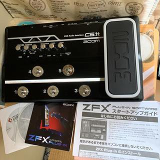 ズーム(Zoom)の美品‼️ZOOM ZFX C5.1t USBオーディオインターフェイス(オーディオインターフェイス)