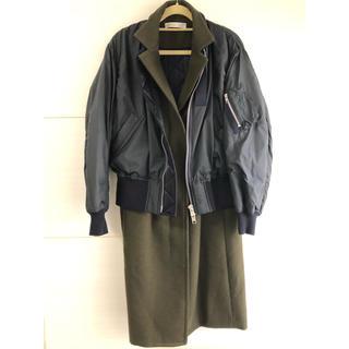 サカイ(sacai)のsacai luck サカイラックMA-1 COMBI COAT コート(テーラードジャケット)