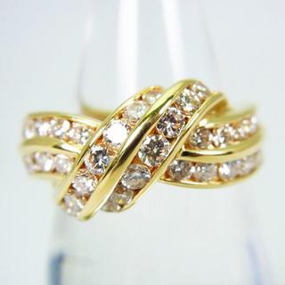 K18 ダイヤモンド リング 11号[g130-8](リング(指輪))