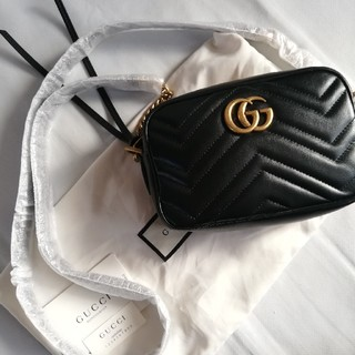 Gucci - gucci GG マーモント ショルダーバッグの通販