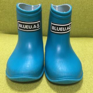 アンパサンド(ampersand)のブルーアズール キッズ長靴 キッズレインブーツ 13cm(長靴/レインシューズ)