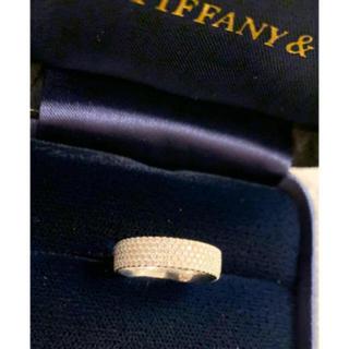 ティファニー(Tiffany & Co.)の逸品/1.2回¥107万品★ティファニー★最高級ダイヤ メトロ 5ロウリング 箱(リング(指輪))