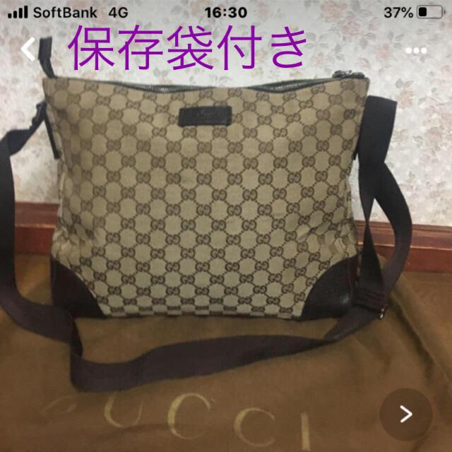 Gucci - GUCCIショルダー保存袋付きの通販 by イイネ放置❌お気軽にコメント下さい