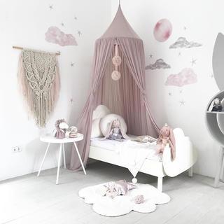 ザラホーム(ZARA HOME)の北欧ベビーベッドキャノピー ベッドカーテン 子供部屋(ベビーベッド)