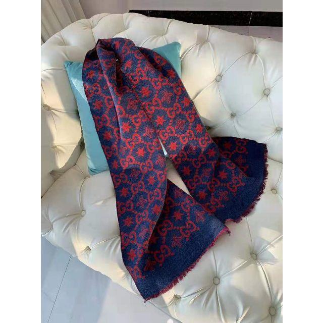Gucci -  GUCCI  ビー&スター GGジャカード スカーフの通販 by なかごめなおき's shop