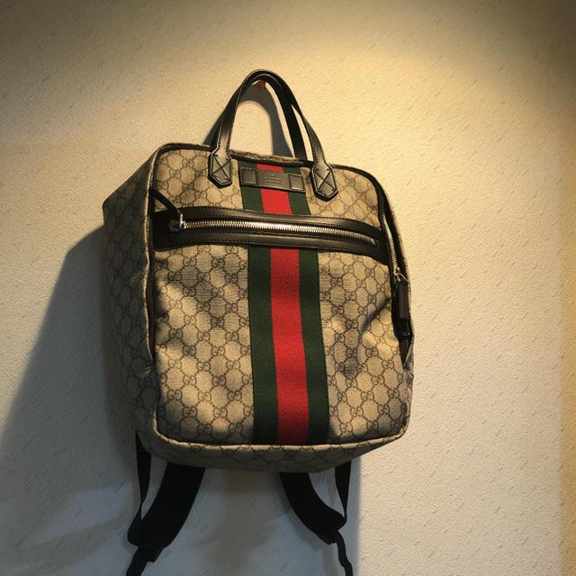 Gucci - グッチ GGスプリーム キャンバスバックパック 確実正規品 GGの通販 by yu's shop