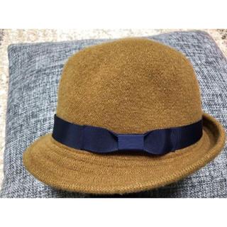 サマンサモスモス(SM2)の❤️美品❤️SM2 帽子 ハット 毛100% レディース(ハット)