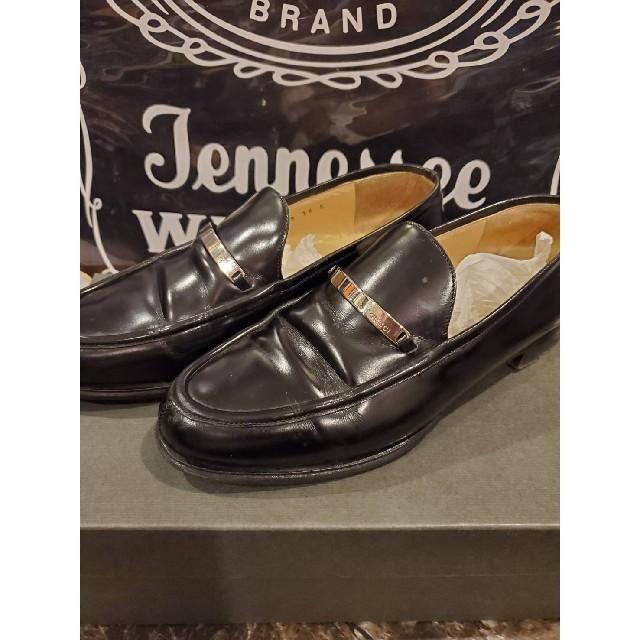 Gucci - ☆ GUCCI グッチ 革靴 ローファー 100 0438 黒 ブラックの通販 by kinpatu king