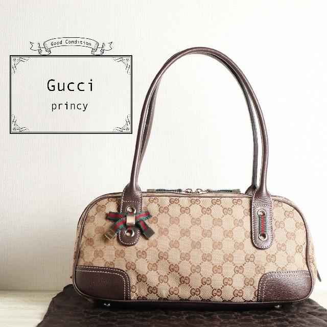Gucci - たん様専用☆ GUCCI グッチ シェリーライン プリンシー ハンド バッグの通販 by antique's shop