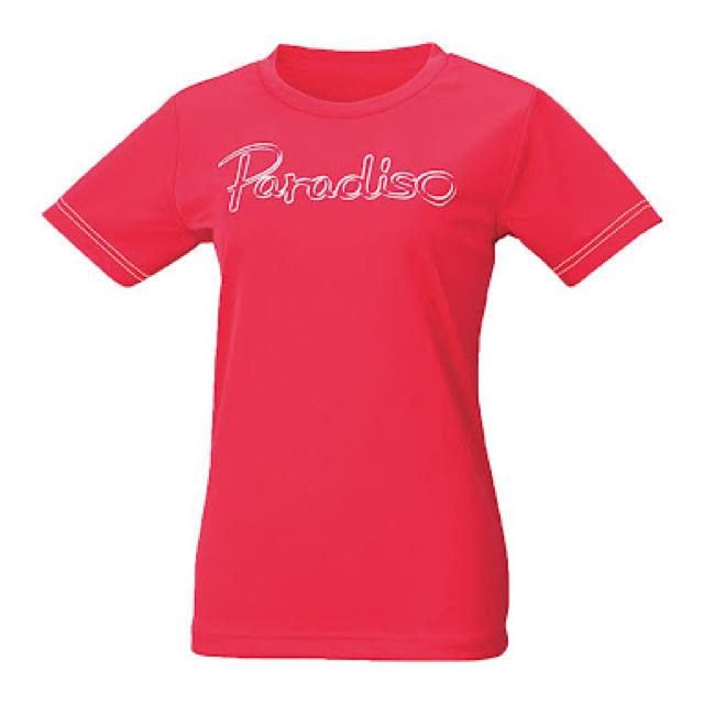 Paradiso(パラディーゾ)の【新品】PARADISO レディース プラクティスシャツ 55CL1A Lサイズ スポーツ/アウトドアのテニス(ウェア)の商品写真