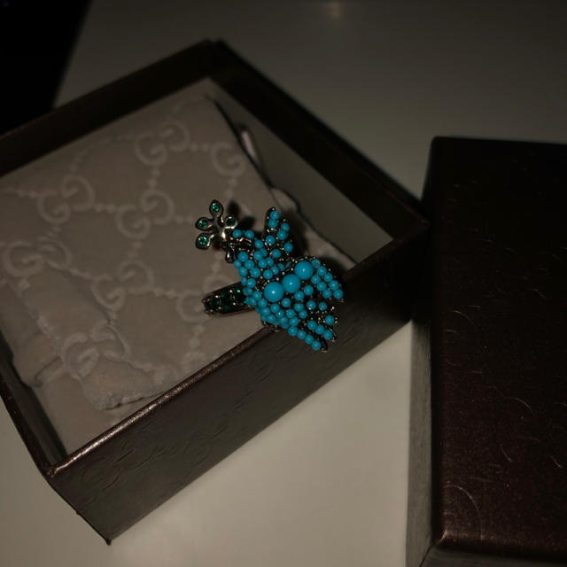 Gucci - GUCCI blue bird ringの通販 by あ