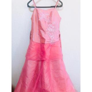 デイジーストア(dazzy store)の薄ピンク系 ロングドレス 演奏会 パーティー キャバクラなど(ロングドレス)