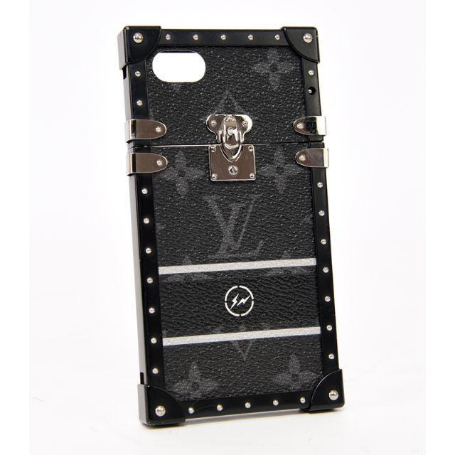 LOUIS VUITTON - ルイヴィトン♡フラグメントコラボ アイトランク iPhone7ケース♡ブラック黒の通販