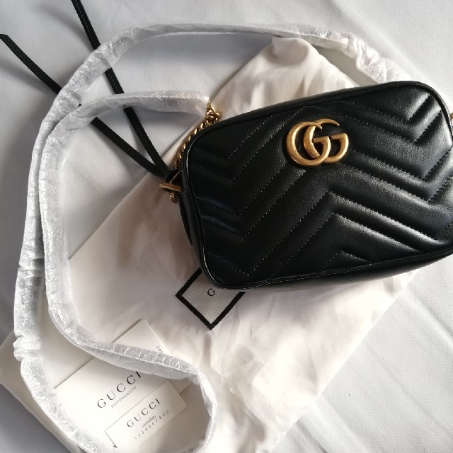Gucci - Gucci GG marmont マーモントバッグの通販 by poppina's shop