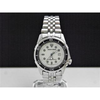アルバ(ALBA)のALBA AQUA GEAR ダイバーウォッチ デイト 蛍光文字盤 20BAR(腕時計)