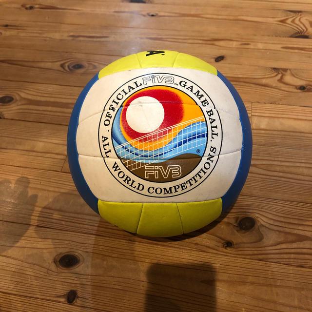 MIKASA(ミカサ)のビーチバレー用 バレーボール スポーツ/アウトドアのスポーツ/アウトドア その他(バレーボール)の商品写真