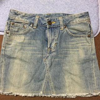 ベドウィン(BEDWIN)のデニムミニスカート デニムスカート EDWIN503 丈27センチ(ミニスカート)