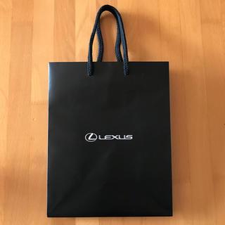 トヨタ(トヨタ)のレクサス LEXUS ショップ袋 ショッパー(ショップ袋)