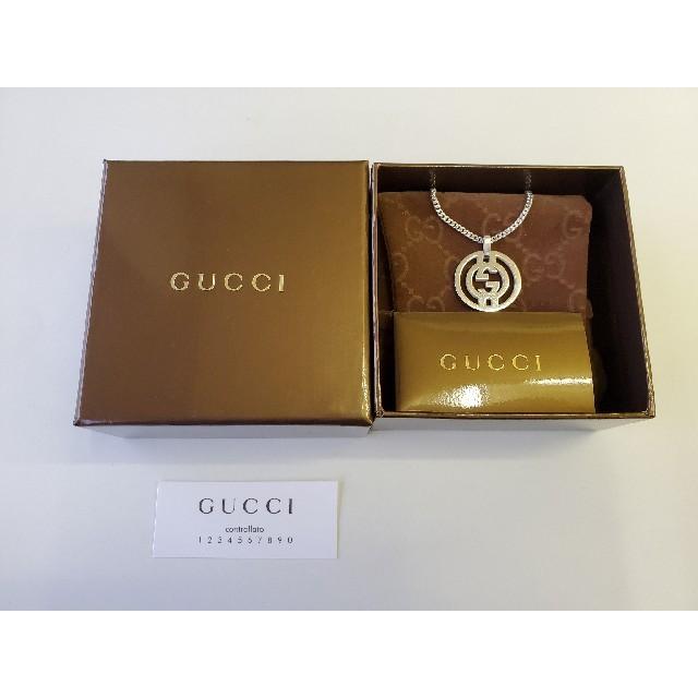 Gucci - GUCCI スターリングシルバー ネックレスの通販 by masmi's shop