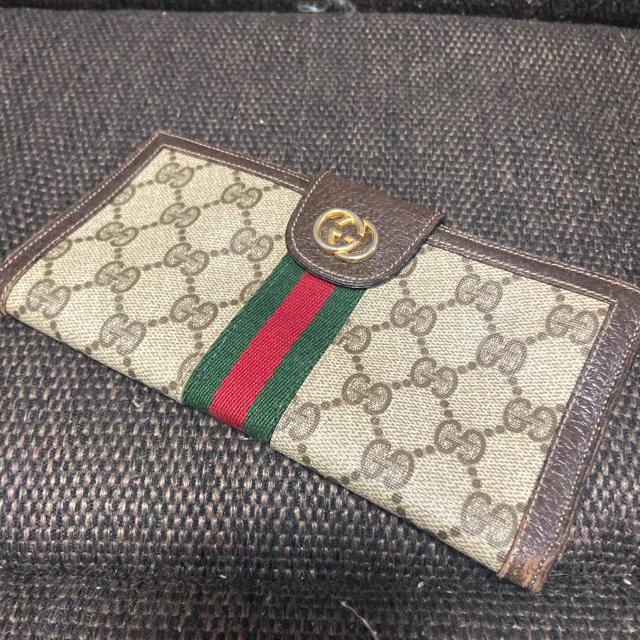 Gucci - GUCCI グッチ シェリーライン 長財布の通販 by すぎちゃん's shop