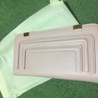 ライトピンク♡レザー調財布(財布)