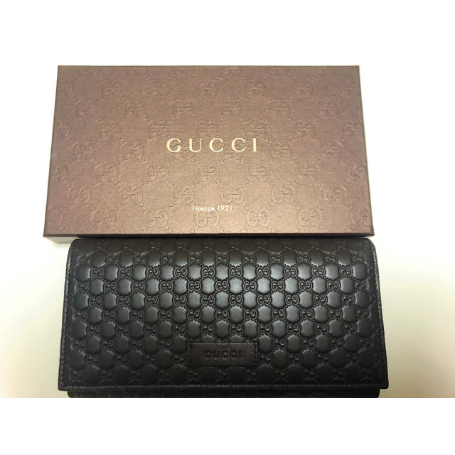 Gucci - GUCCI マイクログッ� 長財布新�未使用�通販 by �ん's shop