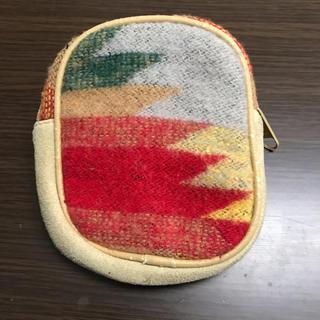 ミニポーチ マルチケース ファスナー インディアン系(ポーチ)