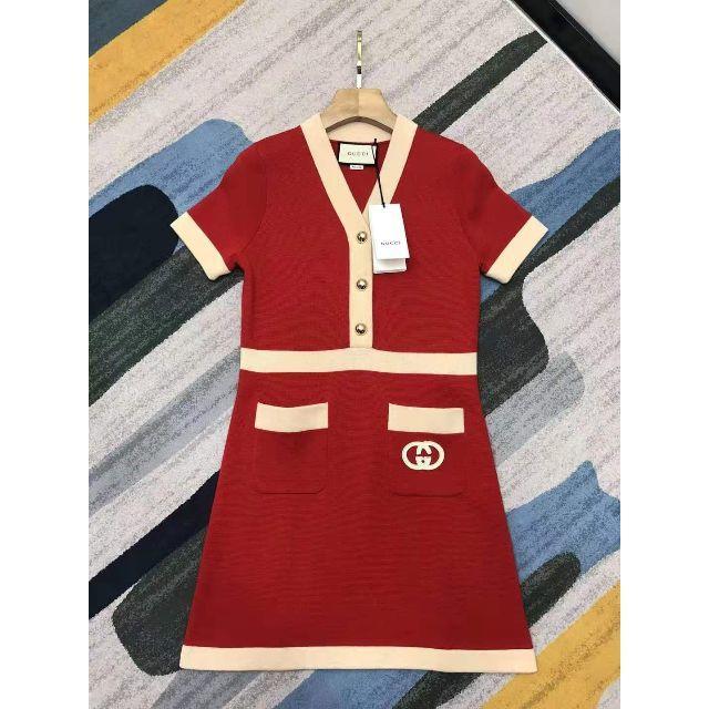 Gucci - GUCCI 新作 インターロッキングG ドレス�通販 by �や����'s shop