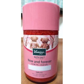 クナイプ(Kneipp)のクナイプ バスソルト サクラの香り(入浴剤/バスソルト)