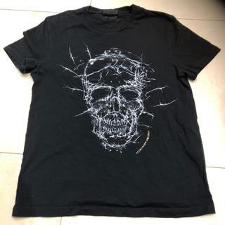 アレキサンダーマックイーン(Alexander McQueen)のアレクサンダーマックインxs(Tシャツ/カットソー(半袖/袖なし))